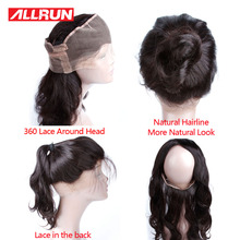 Malaysian Body Wave Frontal 360 Lace Virgin Hair 22*4*2 Pre Plucked 7a Unprocessed Virgin Hair Human Hair Extensions