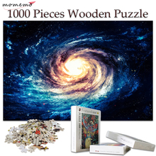 MOMEMO 1000 Pieces Wood Puzzle Wooden Toys Jigsaw Puzzles for Adults Assembling Kids Educational Decor