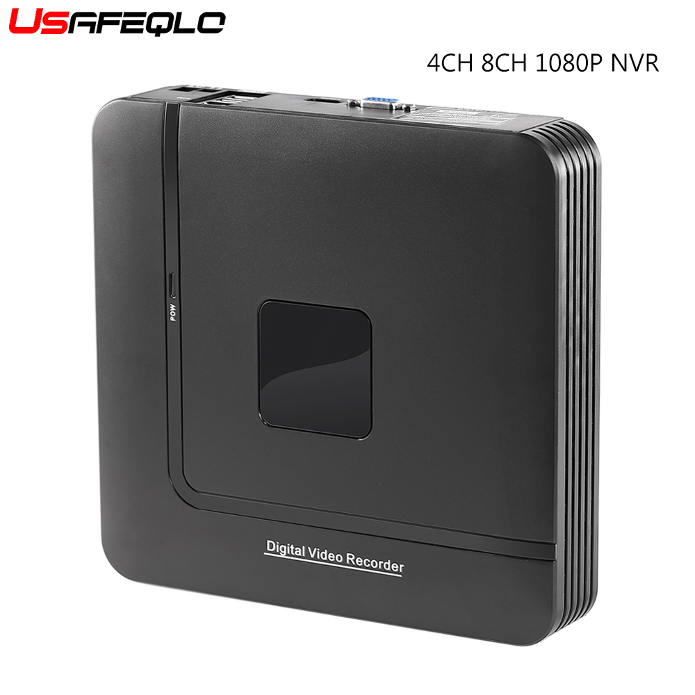 Mini NVR Ip-Camera-System CCTV 8-Channel ONVIF Newest 4CH 1080P 8CH for Security Standalone