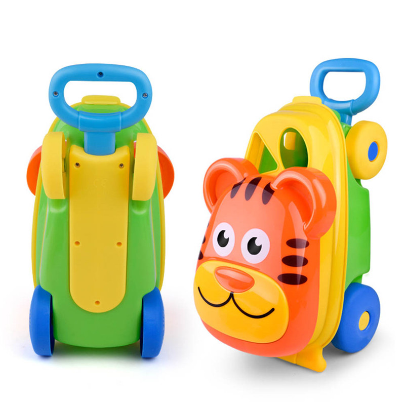 15 Pcs Kids Cart Beach Sand Toys Bucket Water Children Shovel Kit Play Toys Storage Hand Push Children's Beach Toys Summer Sale