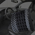 Top Selling Car Seat Supports With DC 12V Car Charger Massage Shaking Cushion Lumbar Back Brace Pillow Lumbar Cushion