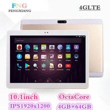 2018 Новый Восьмиядерный 3g 4glte Tablet PC 4 ГБ Оперативная память 64 ГБ Встроенная память двойной камеры 8MP Android 7,0 планшет 10,1 дюймов карманных компьютеров 7 8 10