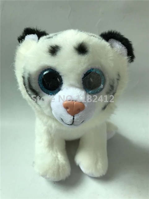 74f464f917f placeholder Ty Beanie Boos Tiggs Tabor Tundra White Pink Tiger Cute Plush  Stuffed Animal Big Eyes 6