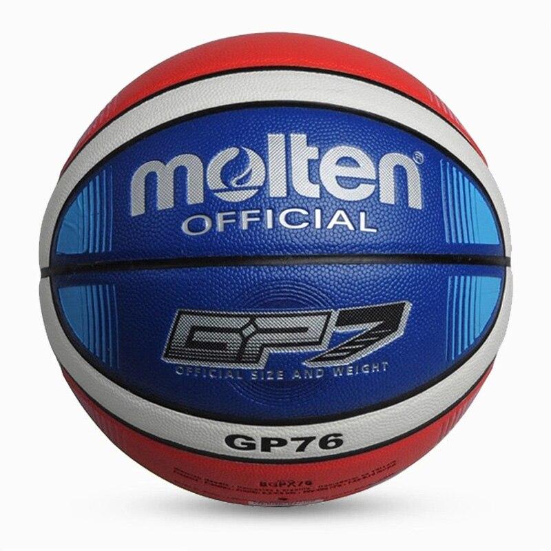 Баскетбольный мяч GL7 из полиуретана, оптом и в розницу, официальный размер, с сетчатым чехлом и иглой, новый бренд, дешево-5