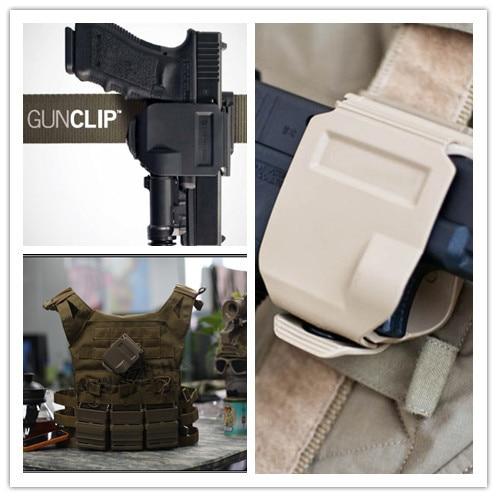 Nouveau modèles CP holster Pour GLOCK 17/22/23 Tactique Airsoft Paintball Chasse Tir Roto Droitier Pince Pistolet Étui