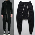 Casual Men Pants 2016 Harem Pants Mens Autumn Winter Joggers Men Hip Hop Pants Drop Crotch Jogger Clothing Male Trousers 50