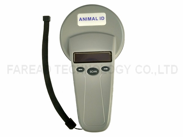 Lector de 134.2 KHz 125 Khz LF RFID de IDENTIFICACIÓN de Animales mascota escáner FRD5300