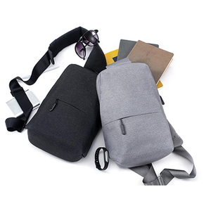 Image 5 - OriginalXiaomi Backpack Chest Bag  Fashion Leisure Bags Travel Urban Bag 200*100*400mm For Men Women Small Size