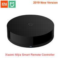 Original Xiao mi mi jia universel Intelligent télécommande intelligente WIFI + IR commutateur 360 degrés automatisation maison mi capteur Intelligent