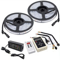 10M 5050 RGB Dream Color Magic 6803 IC LED Strip Light  + 133 Change RF Remote Controller + Power Supply Adapter