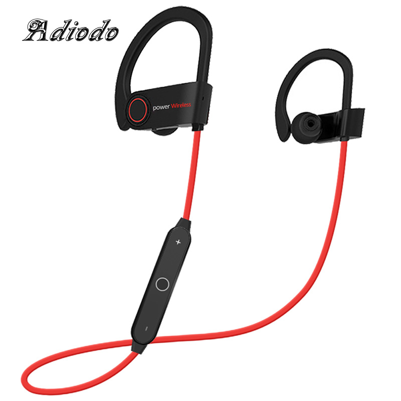 Bluetooth Headphone Fitness Running Sport Bluetooth Earphone Bass Blutooth Headset Stereo with mic for iphone X 8 6 7 Samsung S9