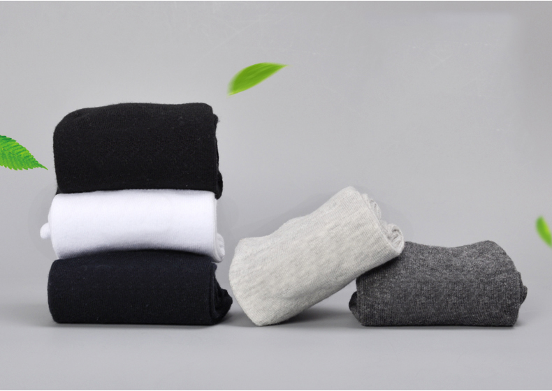 10 Pairs / Lot Brand New Men Cotton Socks Brethable Anti-Bacterial Deodorant Brand Guarantee High Quality Guarantee Man Sock