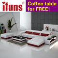 Sofá de couro, sofá da tela na sala de estar sofás, pequenos sofás secionais móveis da sala
