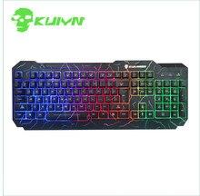 Original JM K1 Backlight LED Luminous Gaming Keyboard Waterproof Wired USB Game Computer Keyboard for Desktop