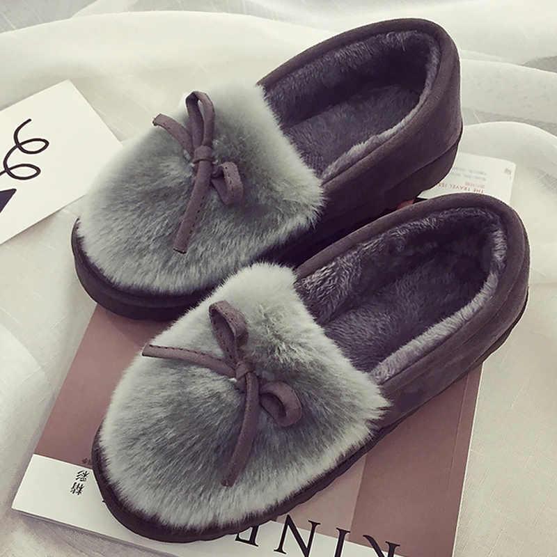 Kadın botları 2018 severler Artı kadife Kar Botları Sıcak Antiskid Alt sıcak Tutmak çizmeler kadın ayakkabıları artı Boyutu 35-40