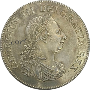 1804 Great Britain George III Bank of England Token One DOLLAR Five Shillings Cupronickel Plated Silver Copy Coin(China)