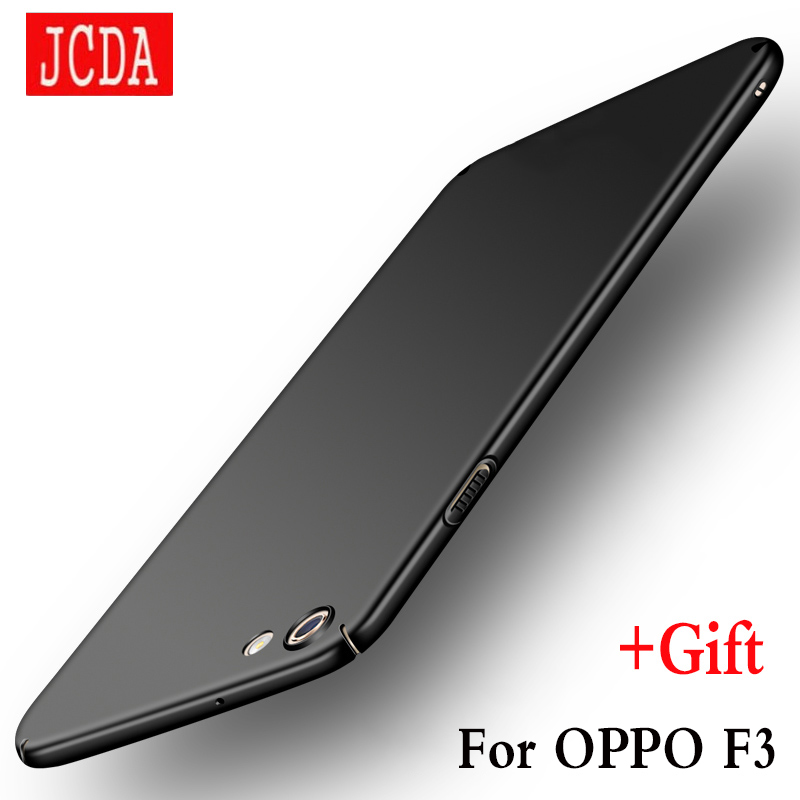OPPO F3 mobile phone case Silicone cover Luxury Silm Hard Frosted PC Back TPU Cases JCDA Brand For OPPOF3 case