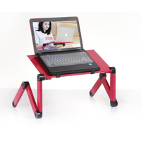 Hot Selling Super Popular Laptop Desk 360 Degree Adjustable Folding Laptop Notebook Desk Table Black Stand