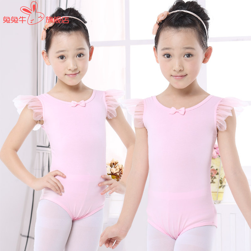 110-150cm Girl Kids Ballet Leotard Disfrazinfantil Kids Ballet Outfit Dancing Clothing Children Gymnastic Leotard Ballet Dance