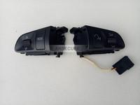Pair multifuntion Steering Wheel Buttons Switch 4 SPOKES For audi A3 A4 B7 B8 A6 C6 Q5 Q7 4F0 951 527 D 4F0 951 527 C