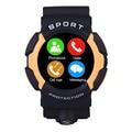 Nuevo bluetooth smartwatch smart watch para la escalada deportiva al aire libre a prueba de agua ip68 smart watch con ritmo cardíaco rastreador gt08 pk dz09
