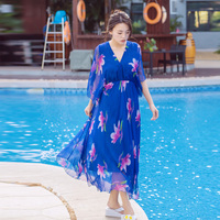 2017 Womens Elegant Sexy Chiffon Lightweight Tunic Casual Club Bridesmaid Mother of Bride Dress Loose A Line Party Sundress