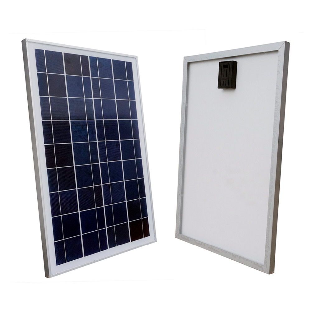 DE stock, no tax, 1piece 25 w 18V poly solar panel for charging 12V battery& Free shipping