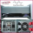 Pure Sine Wave Inverter 10000W DC 12V To AC 220V Car Power Inverter 20000W Peak 10000 Watt Solar Inverter