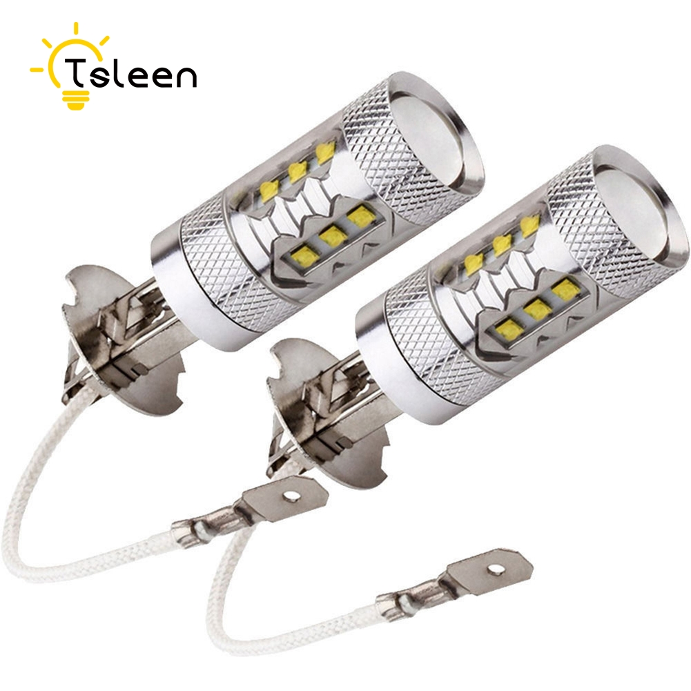 Tsleen 4pcs Car Led Headlight High Power Cree H3 H4 H7 H11 9005/hb3 Super Bright White Shockproof Bulb Lamp 12v Drl Fog Lights Always Buy Good Light Bulbs