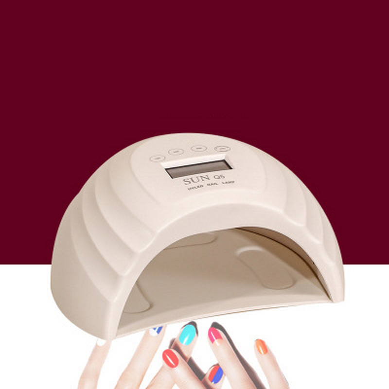 Hingebungsvoll 36 Watt Eis Nagel Lampe Dual Lichtquelle Sunq5 Phototherapie Maschine Hybrid Schnell Trockenen Professionelle Nägel Gele Maniküre Led Uv Lampe SchüTtelfrost Und Schmerzen Nails Art & Werkzeuge