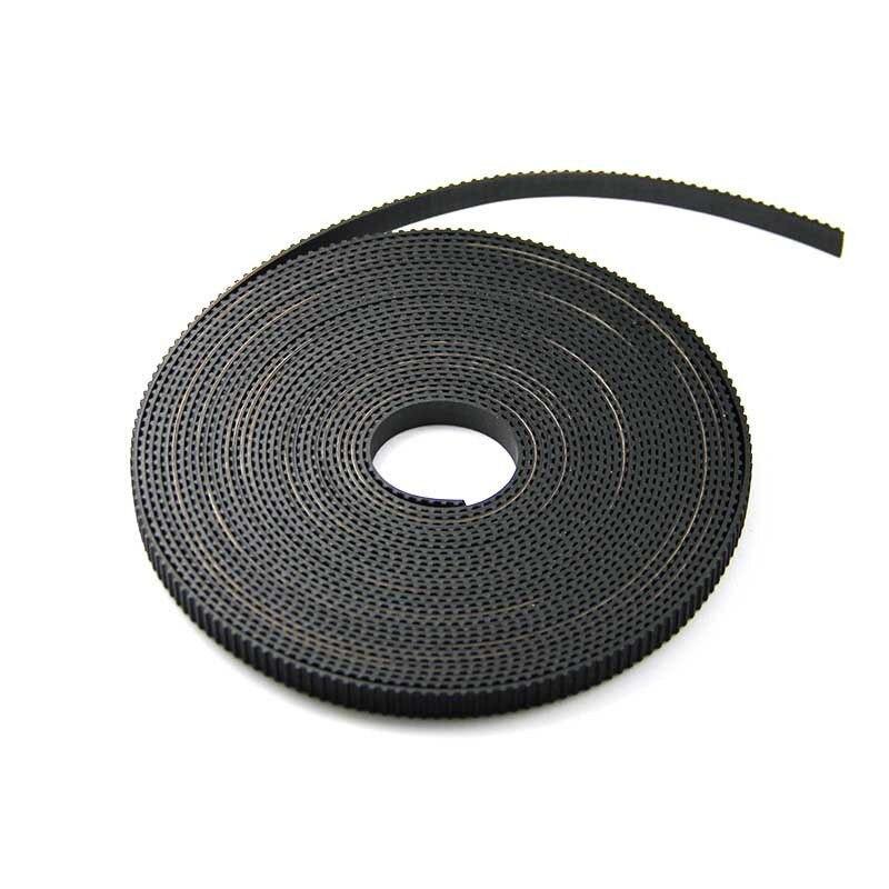 Hot!!!RepRap GT2 Timing Belt 6mm wide 2mm pitch 2GT fr 3D Printer Prusa Mendel 1m VE173 P
