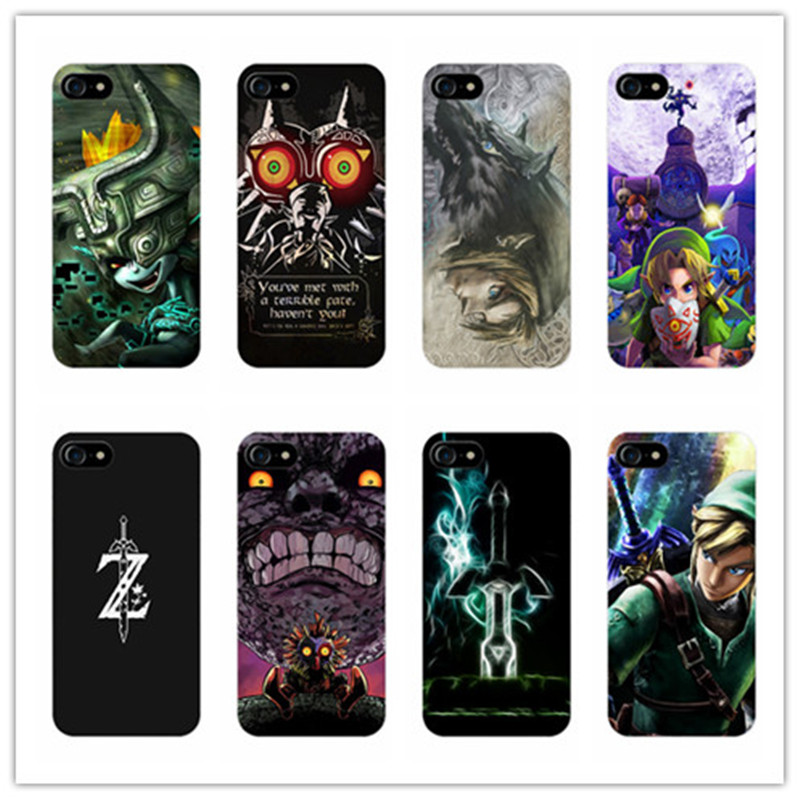 Epic Zelda Black Soft Silicone cover case for Samsung Galaxy s8 s8 plus s5 s6 s7 edge for iphone 8 5s 6 6s 7 plus X phone cases