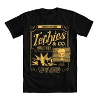 DOTA Parody Techies Men's T-Shirt Summer Short Sleeve T Shirts Tops S~3Xl Big Size Cotton Tees Free Shipping T-shirts