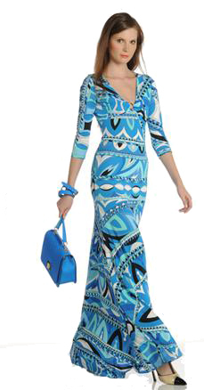 Длинные платья итальянских брендов