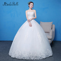 modabelle Suzhou Wedding Dress Sweetheart Top Full Length Long Robe De Mariee 2018 Woman Bridal Dress Sexy Lace Ball Gown