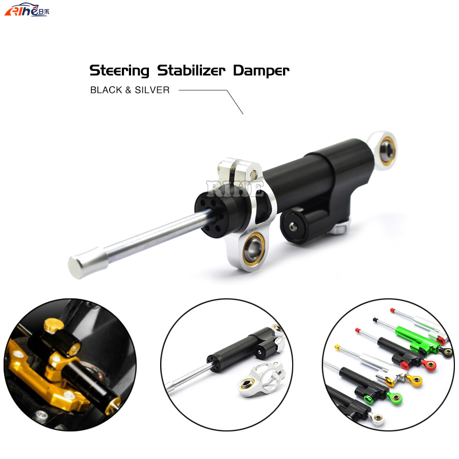 for Kawasaki Z1000 Z800 Z750 Motorcycle CNC Damper Steering Stabilizer Linear Reversed Safety Control for Triumph Victory yamaha for kawasaki z750 z800 z 750 z 800 universal motorcycle accessories stabilizer damper steering mounting all year