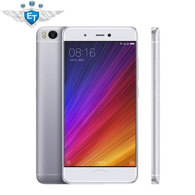 Оригинал Xiaomi Mi5S 5.15 ''1920x1080 Snapdragon 821 Quad Core 3 ГБ RAM 64 ГБ ROM Мобильный Телефон 12MP IMX 378 Камеры отпечатков пальцев ID NFC
