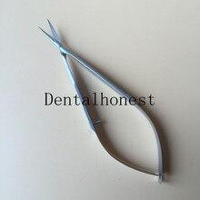 Новые 11 см из нержавеющей стали офтальмологические микрохирургические инструменты Микро ножницы