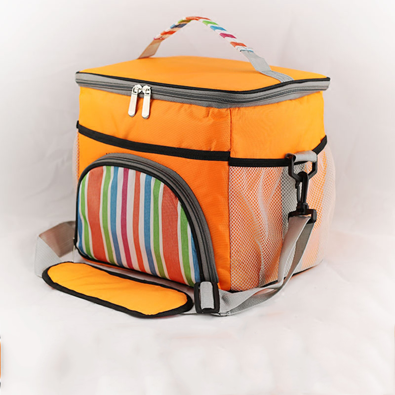 Vornehm Hohe Qualität Große Thermische Picknick Kühltasche Fahrzeug Isolierte Eisbeutel Thermo Lunchbox Frische Aufbewahrungstasche Isolierung Umhängetasche 14l Ohne RüCkgabe
