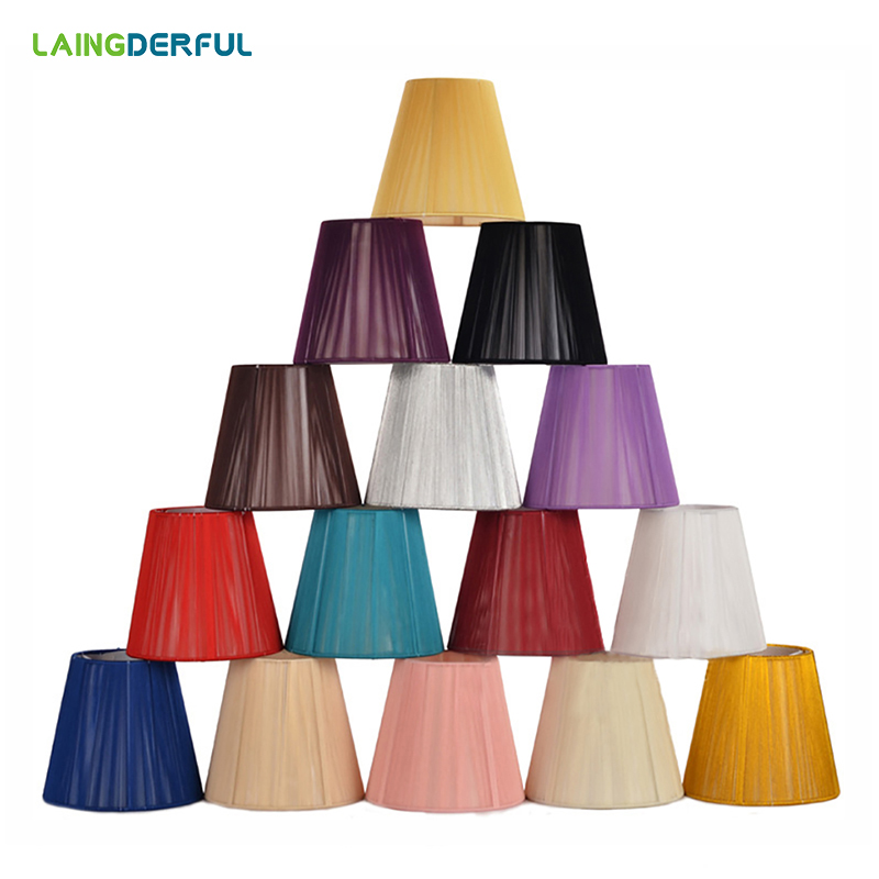 Art Deco Lampshades Forcrystal lamp Light cover Manufacturers Chandelier Light Shade Lamp Cover Drawing for E14 Candle lamp diamond pattern candle cover
