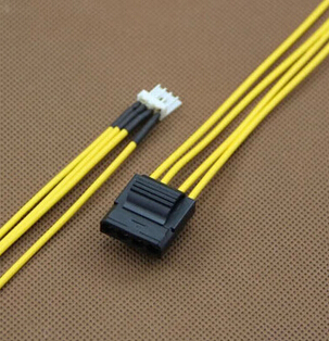 Floppy FDD 4Pin Small Type Male to IDE 4Pin Male Adapter Power Supply Cable CORD 18AWG Wire 0.2M c19 c20 power cord server ups power cable c19 female to c20 male power supply cord 3x2 5mm square power wire 1 8m 10 pcs
