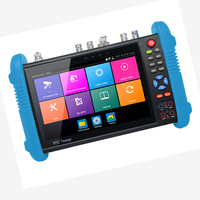 Handheld IP AHD TVI CVI Camera Tester H.265 4K Video Display Multi Functional ONVIF CCTV Cameras Tester Monitor TDR Cable Test