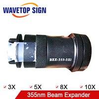 WaveTopSign 355nm Регулируемая дивергенция угол луча Expander 3X 5X 8X 10X OPEX применение для УФ лазерная