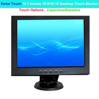 Xintai Touch 10.1 Inches 16:9/16:10 Ratio Desktop Touch Monitor 5 Wires Resistive Touch Screen Resolution (1280*800/128*720)