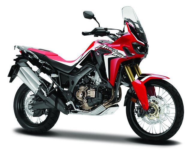 Toys From Africa : Maisto 1:18 honda africa twin dct crf1000l motorcycle bike diecast