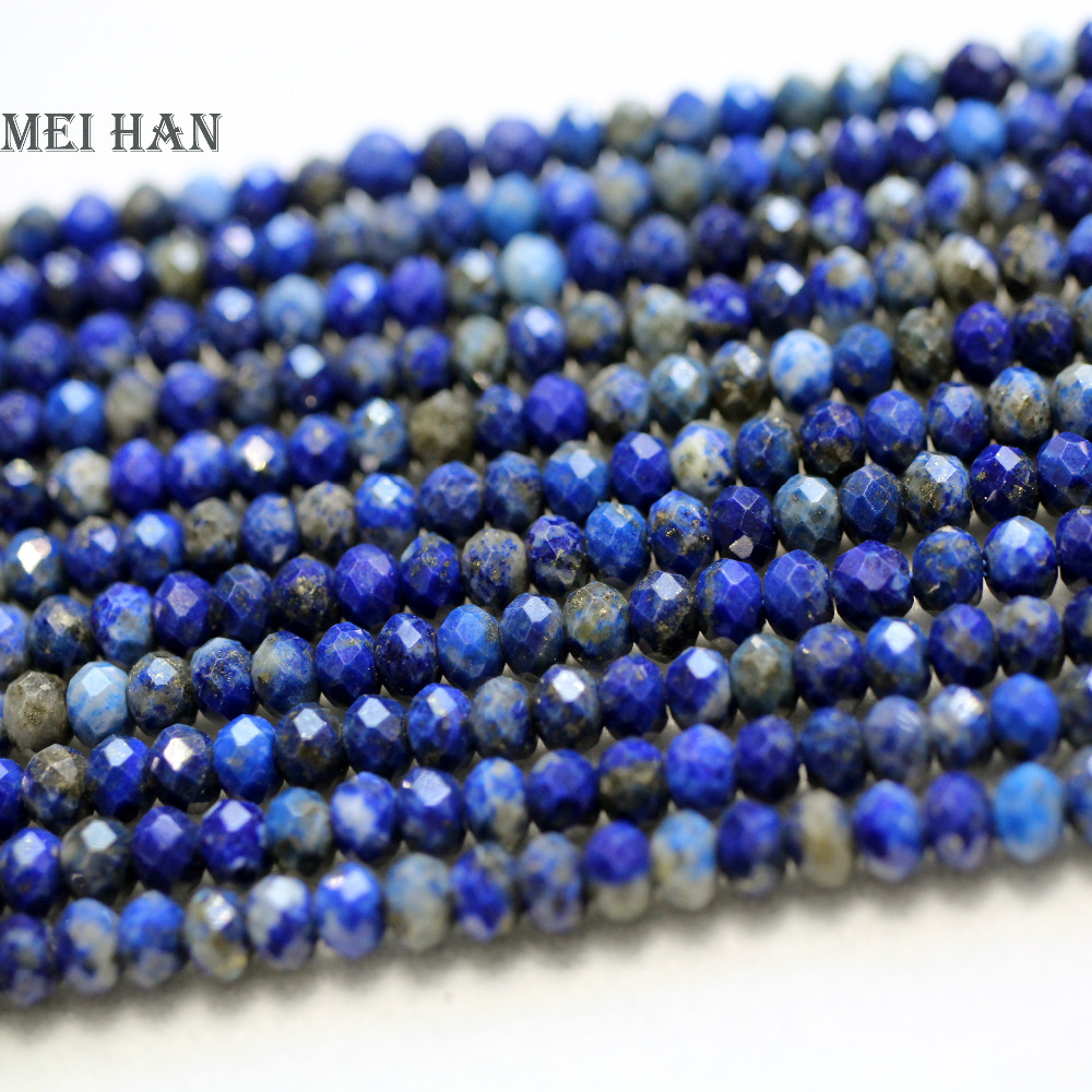 100 x Wood WOODEN SLIM Rondelle Beads ~ 6x2mm ~ Dark Blue Navy