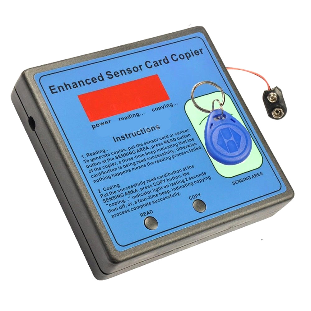 ФОТО EM4100 125K RFID Writer Copier Free 5pcs T5577 Writable tags for Access control
