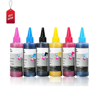 Haute qualité 6 couleur encre de Sublimation Pour Epson imprimante 1400/1L800/R230 et +
