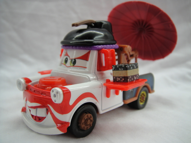 Free Shipping New Brand Mattel Pixar Cars 2 Toys 1/55 Geisha Die Toy Car Diecast Metal Loose In