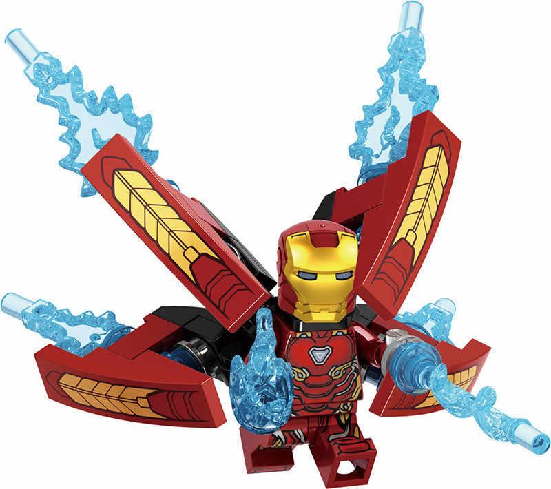 Super Heroes Marvel The Avengers Movie Figures Action Model Building Blocks Toys Figures gift